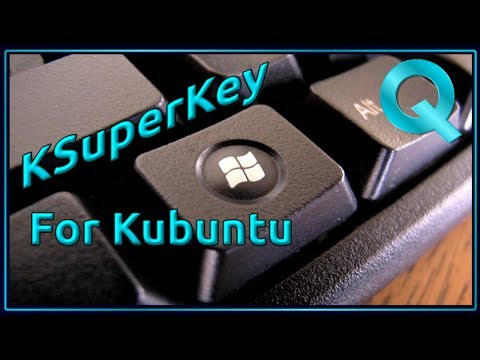 How to Restore Windows / Super Key functionality to Kubuntu with KSuperkey