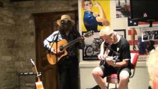 Paul J Miles & Phil Mezcal in Acoustic Blues