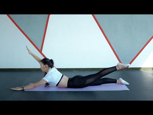 Худеем просто. Тренировка спины Workout   Будь в форме