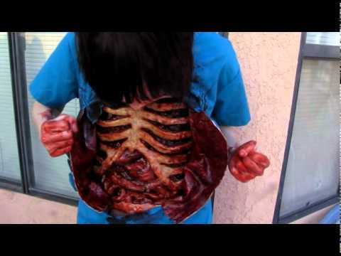 Autopsy Chest Makeup