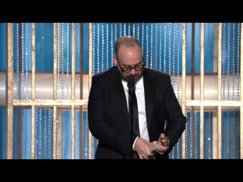 Paul Giamatti Wins Best Actor Motion Picture Musical or Comedy - Golden Globes 2011