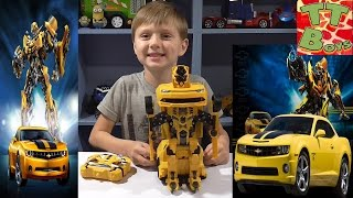 ✔ Bumblebee Transformer. Распаковка Трансформера с Игорьком / Video for kids / New Transformer ✔