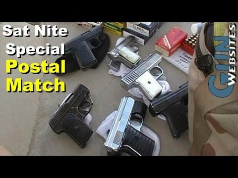 Saturday Night Special. .25 acp Pistol Postal Match