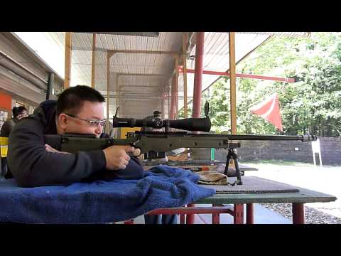 Accuracy International Sniper Rifle Collection