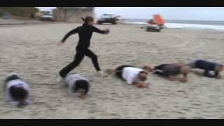 Beach Boot Camp Workout