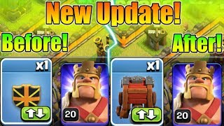 New Siege Machine Quality of Life Changes Update | New default Option In CC
