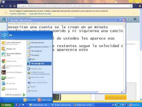 como descargar el juego de gta san andreas para pc en español