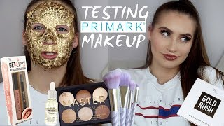 TESTING NEW PRIMARK / PENNEYS MAKEUP 2018 | UNICORN BRUSHES, LIP KIT, DUPE FOR ABH?
