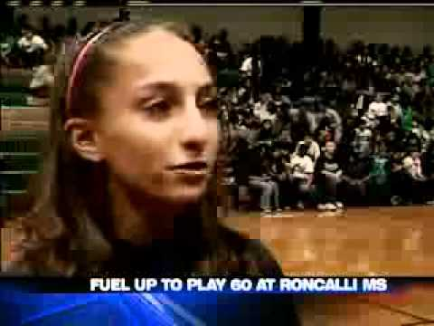 Fuel Up to Play 60 with Miles at Roncalli Middle School.wmv