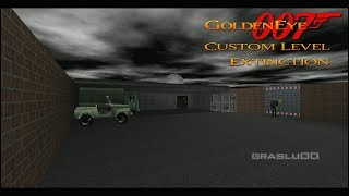 GoldenEye 007 N64 - Extinction - 00 Agent (Custom level)