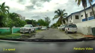 St Maarten Drive from Orient Bay to Maho Bay