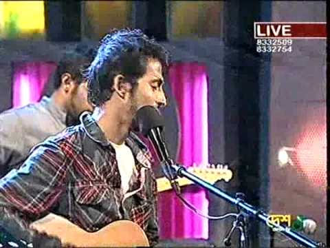 Arnob-Amar Shonar Moyna Pakhi (Live...