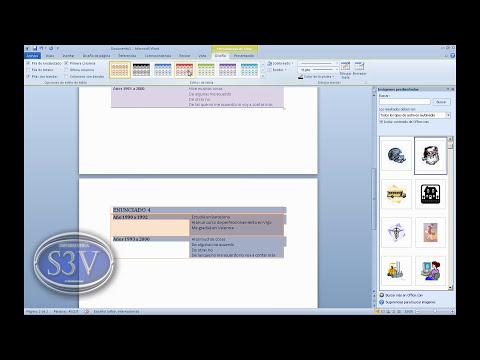 Word 2010 - Hacer un curriculum personalizado