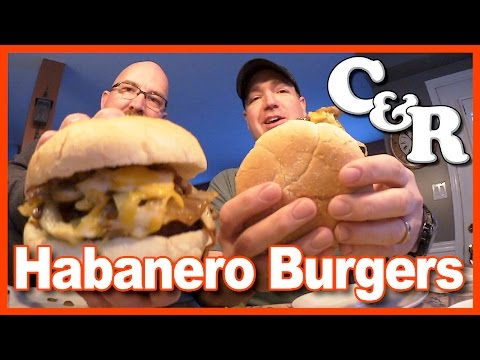 "Habanero Burgers & Caesar Salad from Scratch ""Cook&Review"" 