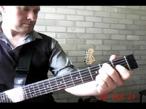 Midnite Movie - performed by guitar tutor, Fred Arnell