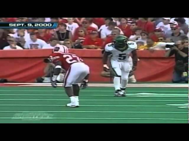 Oregon WR Marshaun Tucker 72 yard reception vs. Wisconsin 9-09-2000