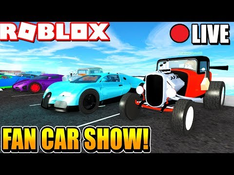 Roblox Vehicle Simulator Weekly Car Show! [ROBUX PRIZES] (Week 5)