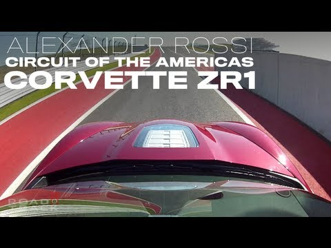 On-board with Alexander Rossi in the Corvette ZR1 - Road & Track