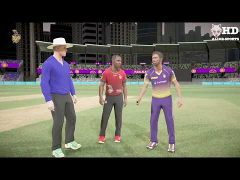 Kolkata Knight Riders V Trinbago Knight Riders highlights | DBC 17 Gameplay