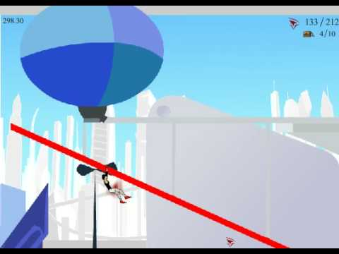 Mirror\'s Edge 2D gameplay