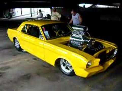 66 Mustang Pro-Street Video