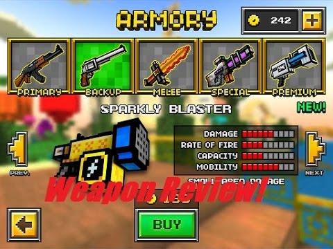 Pixel Gun Logos Pixel Gun 3d Sparkly Blaster