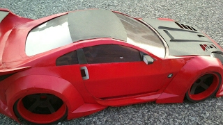 PaperCraft Car 350z Veilside