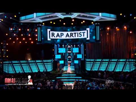 Nicki Minaj WON 'BEST RAP ARTIST' at Billboard Music Awards 2013 (HD)
