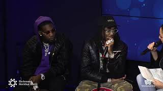 Migos Interview LIVE from HMH Stage 17