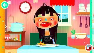 TOCA BOCA kitchen 2 for girls | Video games for kids.