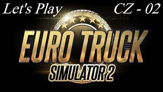 Euro Truck Simulator 2 - Let's Play - CZ (02) První tahač!!