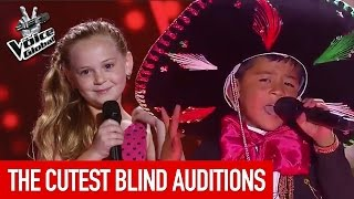 The Voice Kids | CUTEST Blind Auditions worldwide [PART 1]