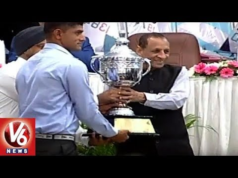 Governor Narasimhan Attends For Hyderabad Sailing Week 2018 Closing Ceremony | V6 News