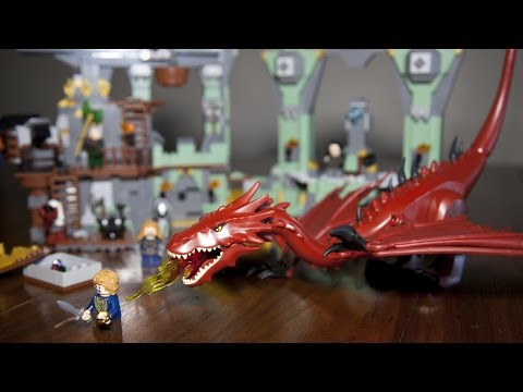 Lego The Hobbit 79018 The Lonely Mountain Build Review