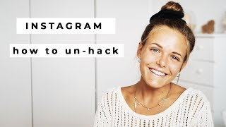 Instagram: HOW TO RECOVER HACKED ACCOUNT (2018)