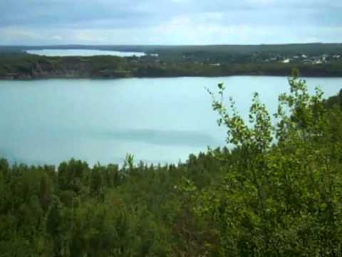 Rising Waters of Pit Lake Behind Bovey MN  PART 1