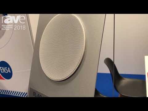 ISE 2018: ic audio Presents DL-SE Ceiling Speakers Series