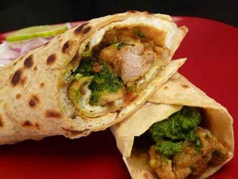 Chicken Kathi Roll (Chicken Frankie)
