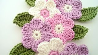TUTORIAL FLOR A CROCHET II
