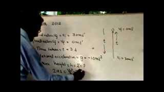 PHYSICS NUMERICALS  CH=2  GRADE 9  2.4      2012