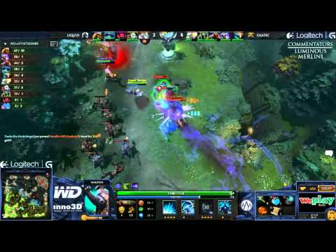 Fnatic vs Liquid - Game 1 (WePlay.TV - Playoffs)