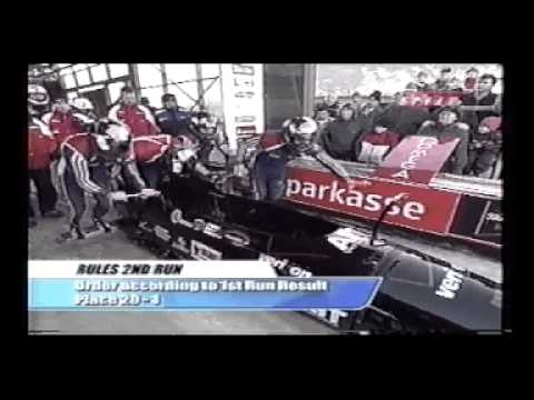 Steve Holcomb, Brock Kreitzberg, Rocky Lanz, Kurt Tomasevicz World Cup Bobsled Altenberg Germany.avi