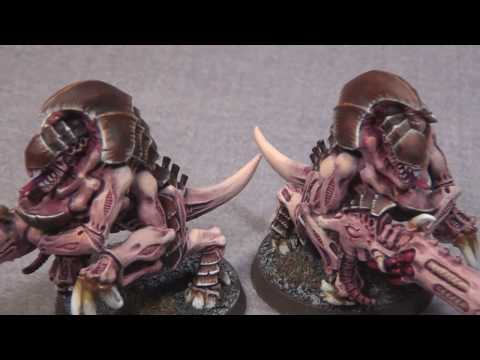 0 Warhammer 40k Painted Tyranid Army   Another Look