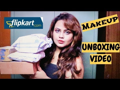 FLIPKART MAKEUP HAUL |  WHAT I GOT FOR DIWALI FROM MY SISTER | AFFORDABLE MAKEUP HAUL