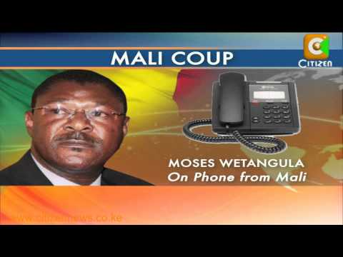 Wetangula Mali Crisis