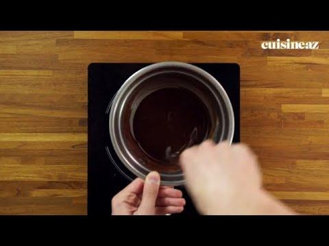 Faire fondre du chocolat au Bain-marie