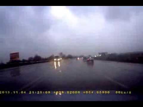 Авария в Рязани на солотченском мосту
