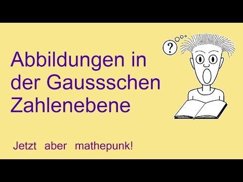 Abbildungen in der Gaussschen Zahlenebene