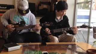 Novelists - Antares (Dual Guitar Cover) [HD]