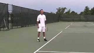 10sne1.com Ken Flach Footwork Lesson 2008 Adidas Tennis Camp